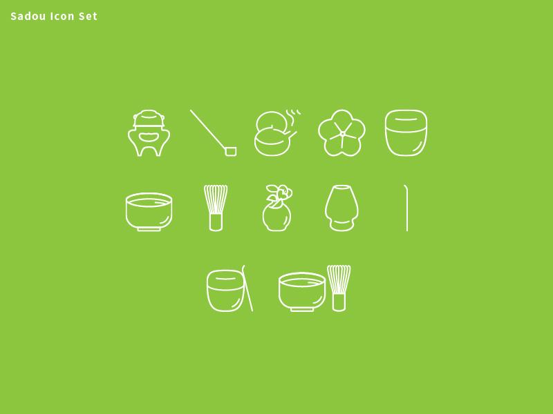 izumi__Sadou Icon Set