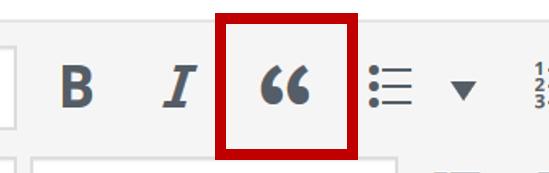 Wordpressビジュアルエディア-引用ボタン